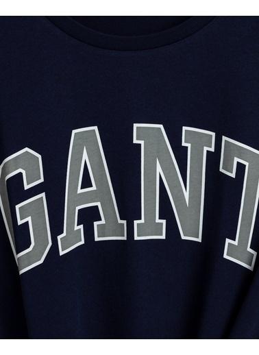 Gant Erkek Regular Fit Tshirt Lacivert